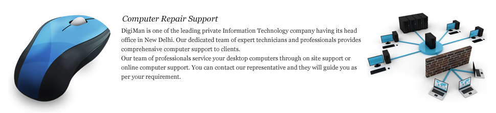 Computer Support in India